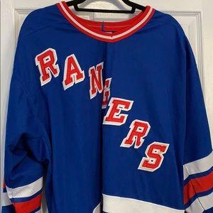 Men's XL Rangers jersey